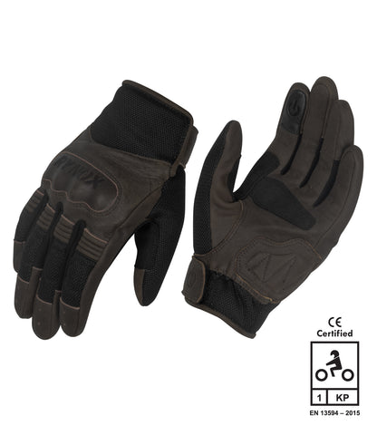 Rynox Urban Gloves Brown 1