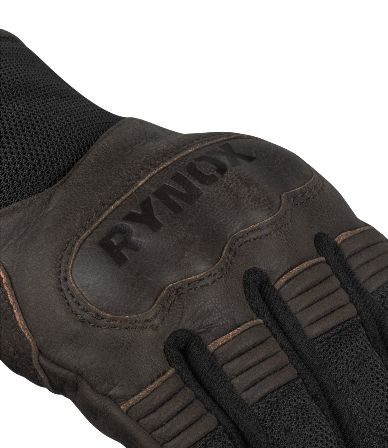 Rynox Urban Gloves Brown 3