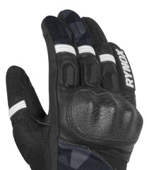 Rynox Urban X Gloves Camo Blue 5