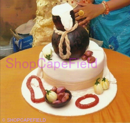 Two layer traditional wedding cake - Shopcapefield