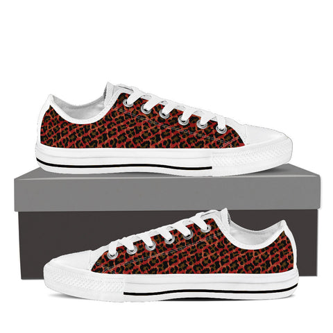 Red Leopard Women's