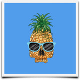 Pineapple Skull Women's