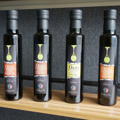 Extra virgin olive oil collection
