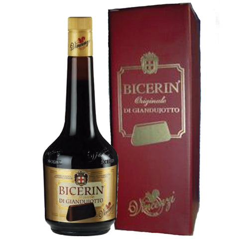 BICERIN GIANDUIOTTO LIQUEUR WITH GIFT BOX 70CL
