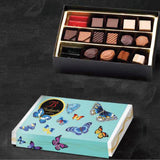 Bodrato Butterfly box 18 pieces assorted chocolate 160gr