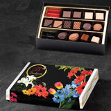 Bodrato floral box 18 pieces assorted chocolate