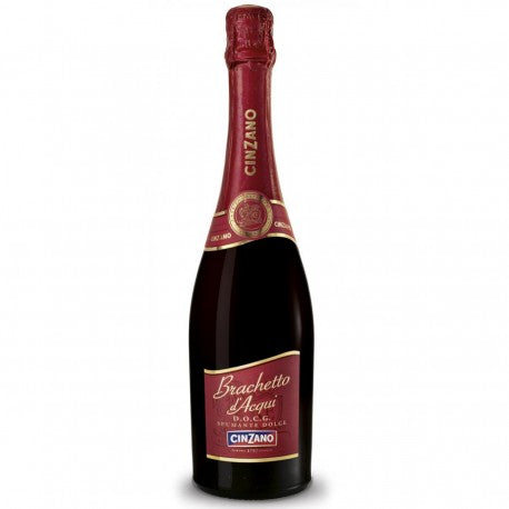 Bracchetto D' Acqui D.O.C.G. Sweet Sparkling red Wine Cinzano