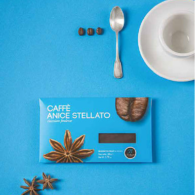 Chocolate bar with coffee and star anise 50gr