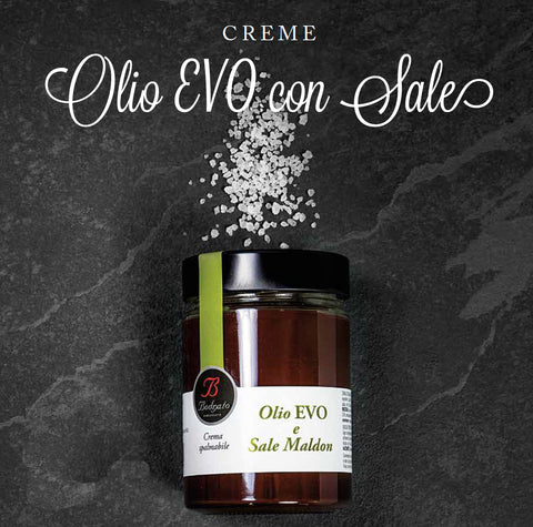 Chocolate cream with salt and extra virgin olive oil