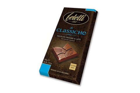 Extra fine milk chocolate bar gluten free