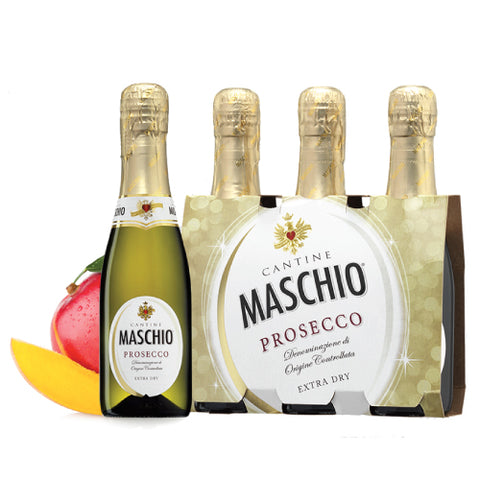 Prosecco Maschio extra dry 20cl pack of 3 bottles