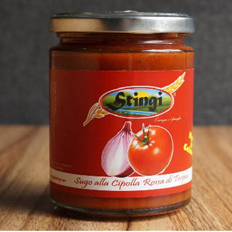 Tropea Red onions tomato sauce 280g