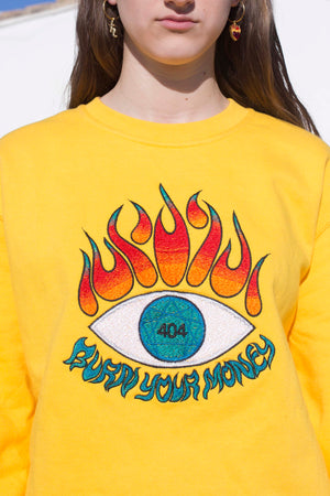 Burn Your Money Sweatshirt