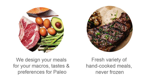 Paleo Diet Meal Delivery Sydney Infographics
