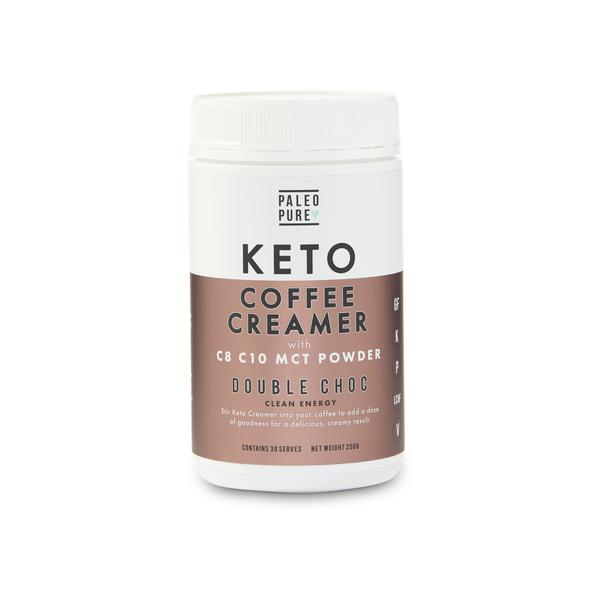 Keto coffee creamer- Double Choc