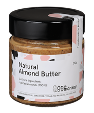 99th Monkey -Natural Almond Butter 200g