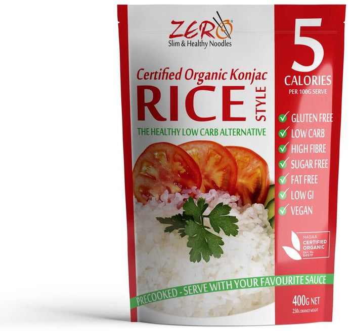 ZERO Slim & Healthy Konjac RICE - 400g