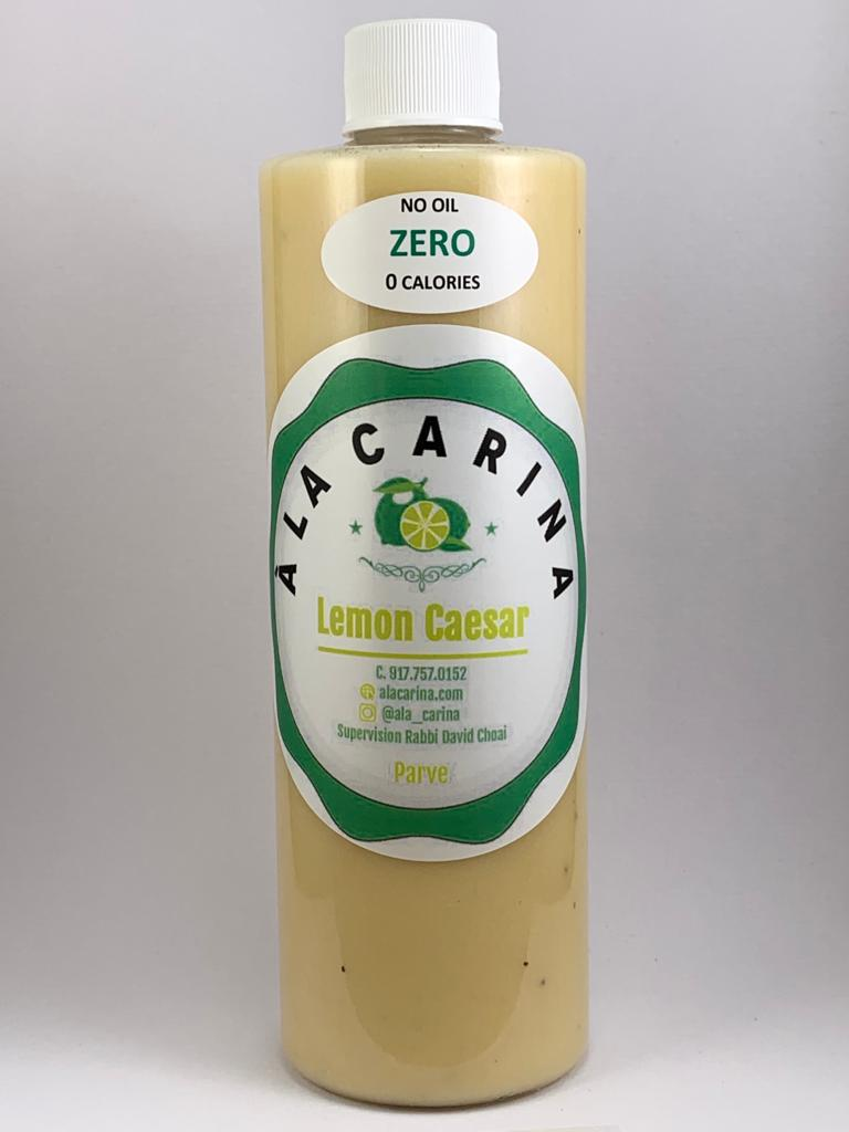 Lemon Caesar Dressing: No Oil