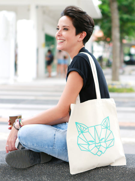 Tenzin Tote Bag (White)