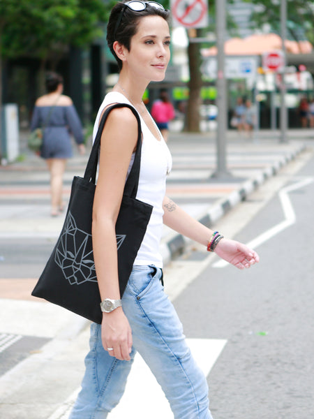 Tenzin Tote Bag (Black)