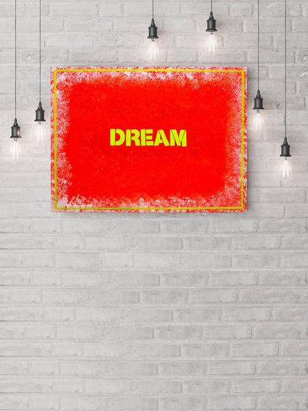 """DREAM"" Canvas Art Piece"