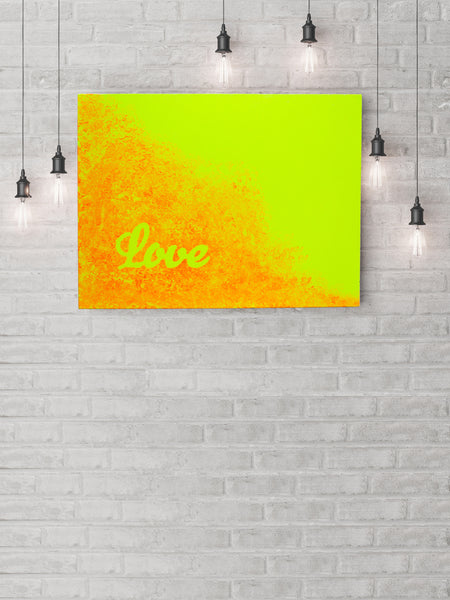 """LOVE"" Canvas Art Piece"