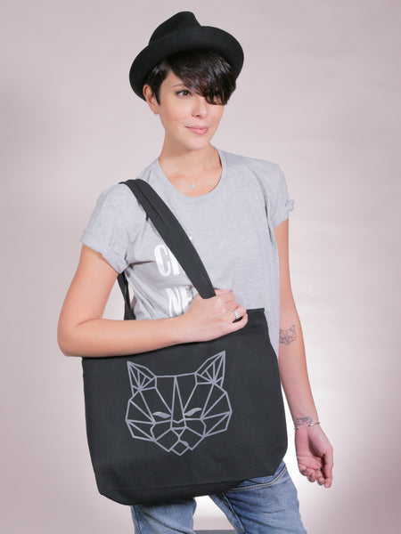 Tenzin Zipper Tote Bag