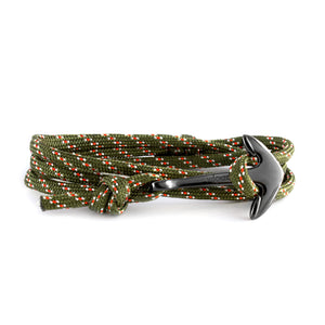 Matt Black Anchor | Multi-color Paracord wrap
