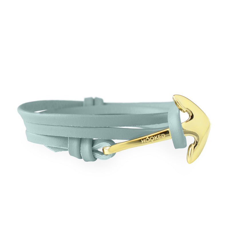 Anchor Mint Leather Wrap