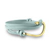 Hook Mint Leather Wrap