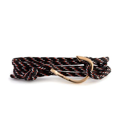 Rose Gold Hook | Multi-color Paracord wrap