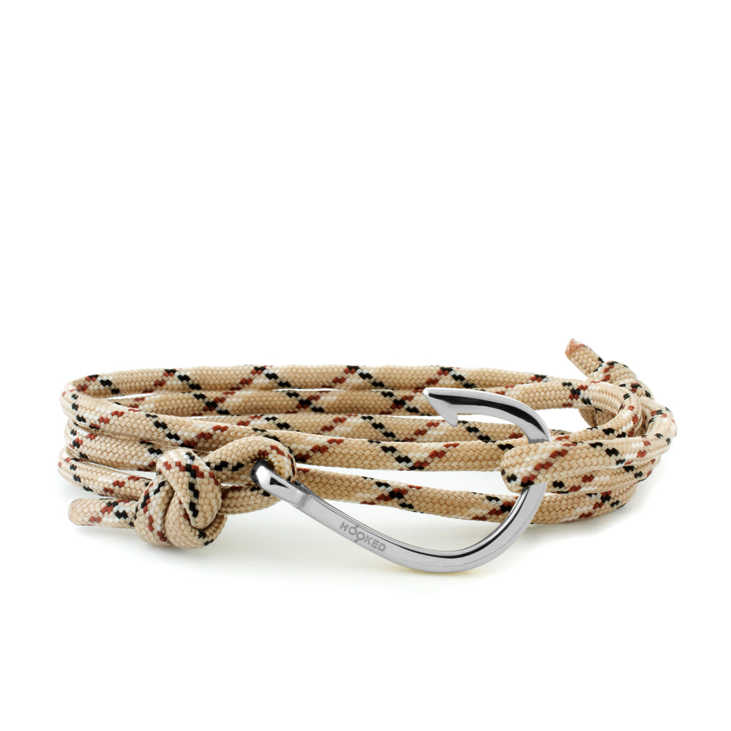 Hook Nude/Brown/Black Paracord Wrap