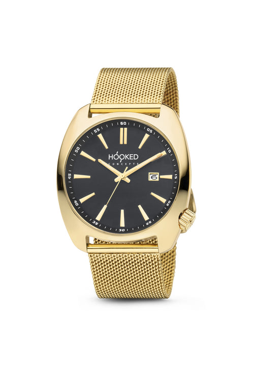 Gold Watch - Black Dial | Female 38mm