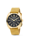 Gold Watch - Black Dial | Master Date - 38mm