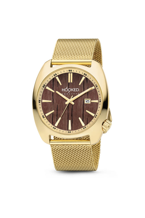 Gold Watch - Boat Deck Dial | Female 38mm