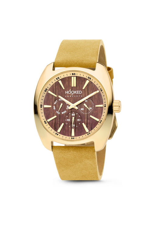 Gold Watch - Boat Deck Dial | Master Date - Female 38mm