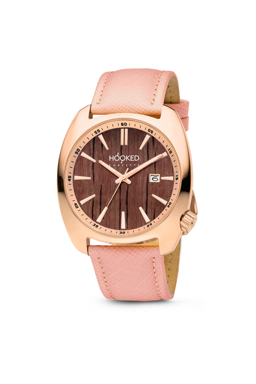 Rose Gold Watch - Boat Deck Dial | Female 38mm