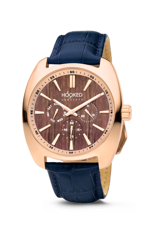 Rose Gold Watch - Boat Deck Dial | Master Date - Male 45mm