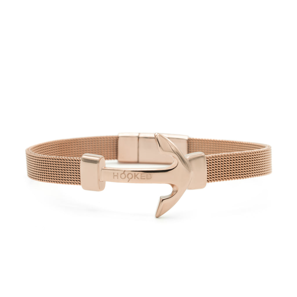 Rose Gold | Anchor milanese Mesh