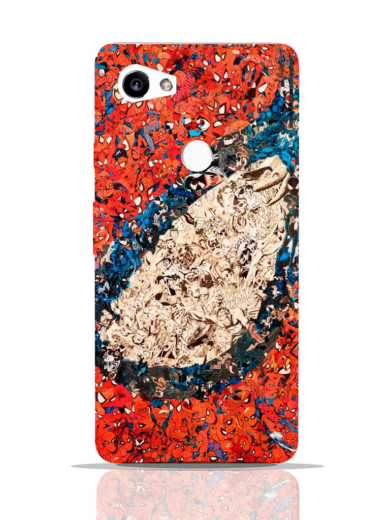Spider Man Comic Collage Pro Case Pixel 2 XL