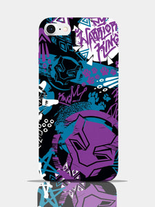 Black Panther Warrior King Pro Case iPhone 7