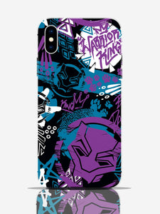 Black Panther Warrior King Pro Case iPhone X
