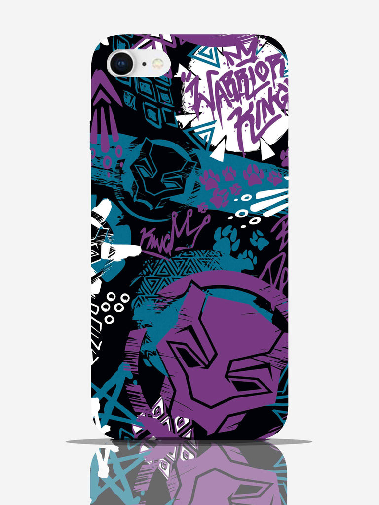 Black Panther Warrior King Pro Case iPhone 8