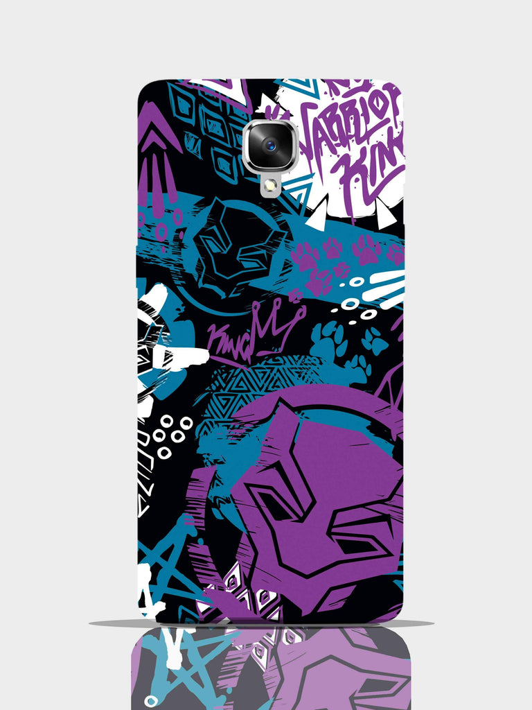 Black Panther Warrior King Pro Case One Plus 3