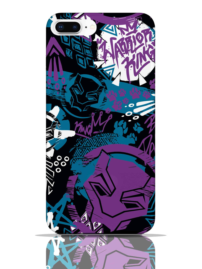 Black Panther Warrior King Pro Case iPhone 8 Plus