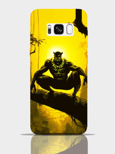 Black Panther Pro Case Samsung S8