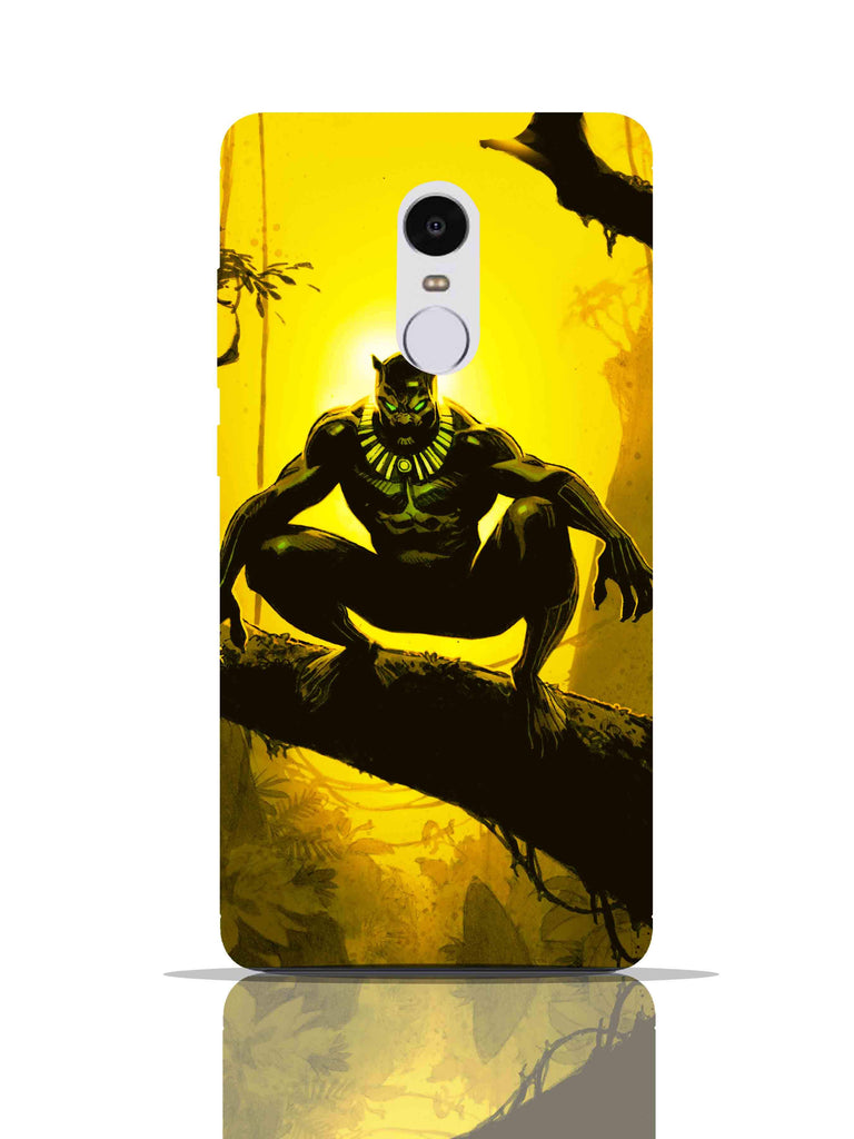 Black Panther Pro Case Red Mi Note 4