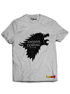 'Saiyans are Coming' Tee