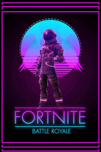 Fortnite Battle Royale Portrait Poster
