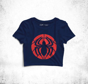 Spidey Logo Crop Top